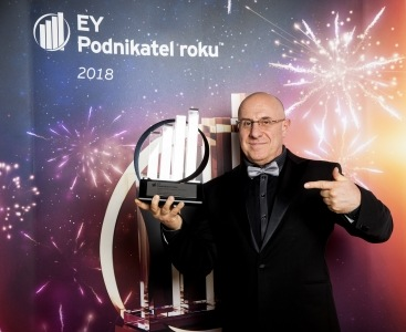 2018 EY Entrepreneur Of The Year Award in the Czech Republic