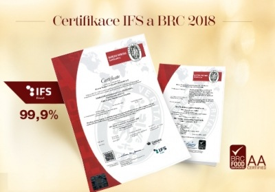 Successful BRC and IFS certification